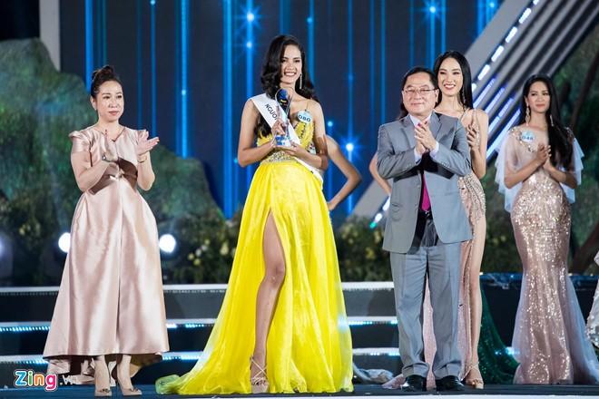 Luong Thuy Linh dang quang Miss World Viet Nam 2019-Hinh-3