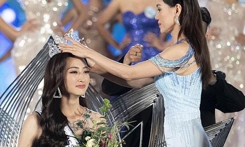 Hoa hau Luong Thuy Linh dinh nghi van mua giai vai ty, BTC noi gi?