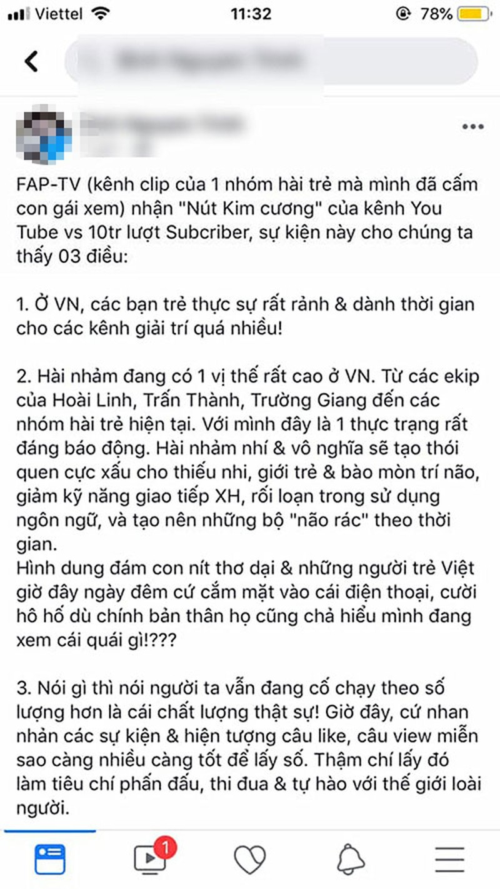 FAPtv nhan nut Kim Cuong Youtube bi che hai nham: Khan gia qua khat khe?-Hinh-2