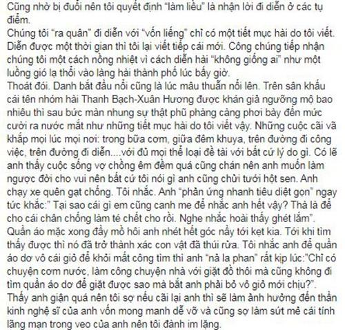 Giua on ao voi vo cu Xuan Huong, MC Thanh Bach phan ung ra sao?-Hinh-6
