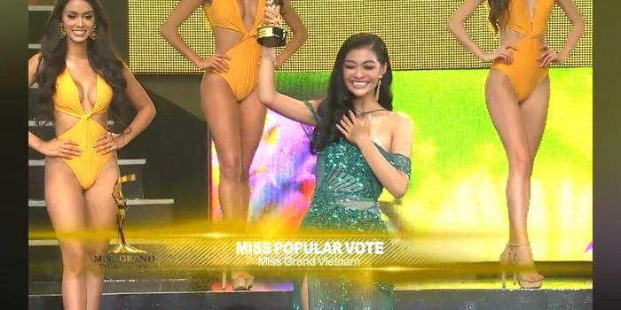 Kieu Loan truot top 5, dai dien Venezuela dang quang Miss Grand International