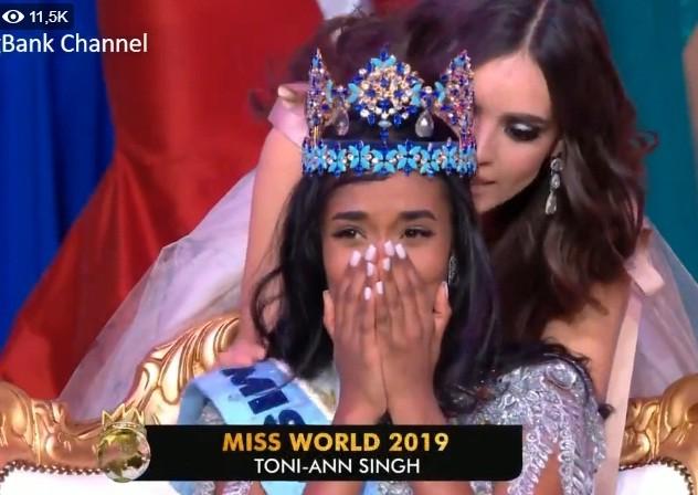 Luong Thuy Linh truot Top 5,  Jamaica dang quang Hoa hau The gioi 2019-Hinh-2