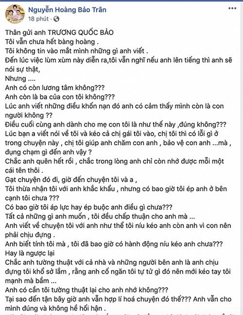 Bi Bao Tran to la nguoi thu ba, Nam Em tuyen bo dam don kien-Hinh-2