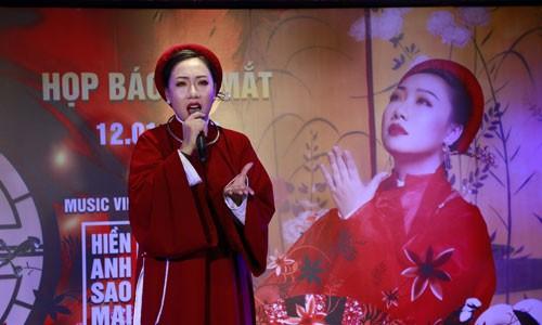 "Sao Mai Hien Anh lam MV ve chuyen tinh ""ngoai luong"" theo phong cach co trang-Hinh-2"