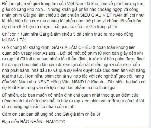 """Phim Tet """"Gai gia lam chieu"""" chua ra rap da bi to """"dao"""", su that the nao?-Hinh-7"""