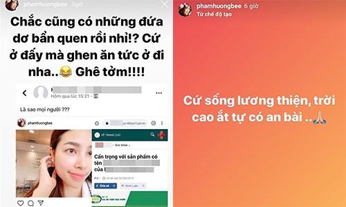 Phan ung cua Pham Huong khi bi to PR my pham kem chat luong-Hinh-2