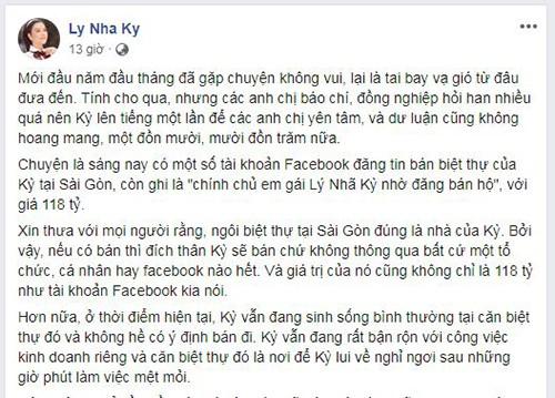 Ly Nha Ky phan phao tin don rao ban biet thu va bi theu det doi tu-Hinh-2