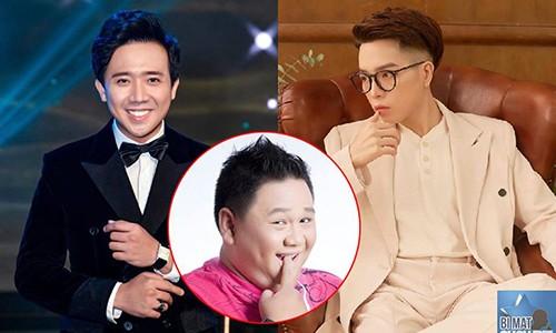 Tran Thanh gay buc xuc khi ghep doi Duc Phuc voi Minh Beo