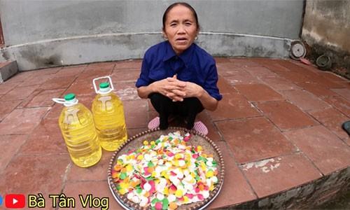 Ba Tan Vlog khoe lam nia phong tom 7 mau sieu to, nguoi xem chi ra ngay dieu la