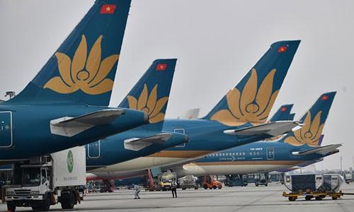 Vietnam Airlines dung bay Phap tu dem 17/03, Malaysia tu 18/03
