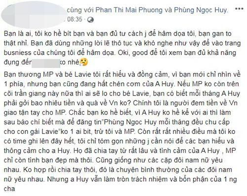 Phung Ngoc Huy luon chu cap cho con, mat viec vi bi antifan chui-Hinh-2