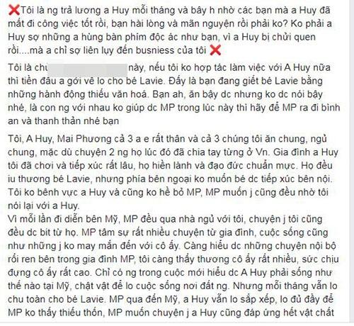 Phung Ngoc Huy luon chu cap cho con, mat viec vi bi antifan chui-Hinh-3