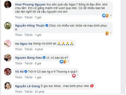 Hong Ngoc bi bong do no noi xong hoi, Mr Dam nhin ma bat khoc-Hinh-3
