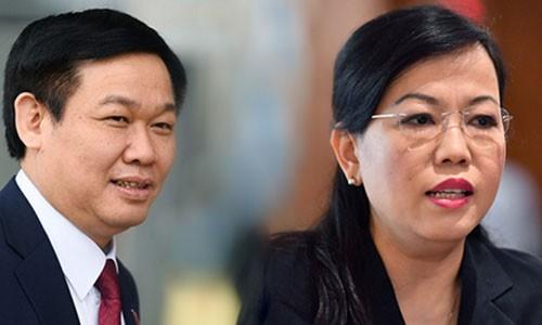 Quoc hoi se mien nhiem ong Vuong Dinh Hue va ba Nguyen Thanh Hai