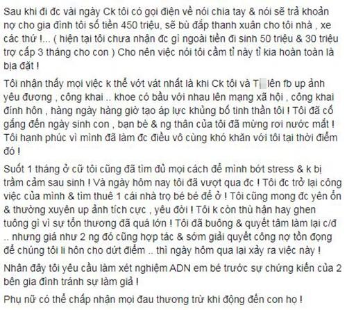 Phuong Thuy to dien vien Phung Cuong ngoai tinh khi vo sap sinh-Hinh-3