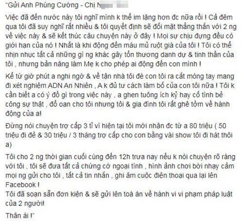 Phuong Thuy to dien vien Phung Cuong ngoai tinh khi vo sap sinh-Hinh-4