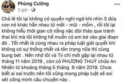 Phuong Thuy to dien vien Phung Cuong ngoai tinh khi vo sap sinh-Hinh-5