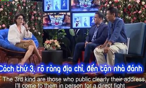 Trang Tran dop chat, cai tay doi voi TS Le Tham Duong gay soc