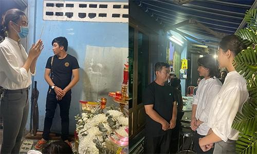 Luong Thuy Linh vieng em hoc sinh qua doi vu cay phuong do