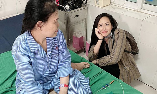 Dieu it biet ve me cua Hoa hau Mai Phuong Thuy