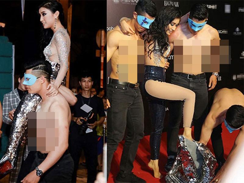 Lam Khanh Chi lo tren tham do, loat sao gay cuoi bi nem da-Hinh-13
