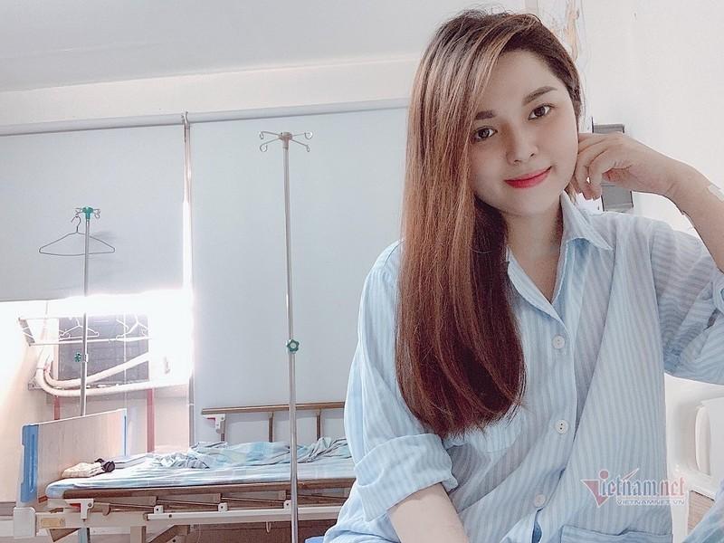 MC Dieu Linh phai cap cuu vi benh ung thu chuyen bien xau