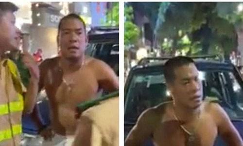 Lo danh tinh tai xe sau tai nan chong doi canh sat gay nao loan o Ba Trieu