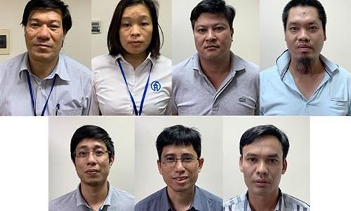 Ket luan dieu tra vu an vi pham dau thau tai CDC Ha Noi, de nghi truy to 10 bi can