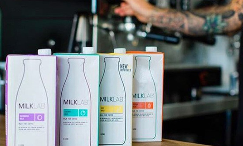 Thu hoi sua hanh nhan Milk Lab 1L do nghi nhiem khuan