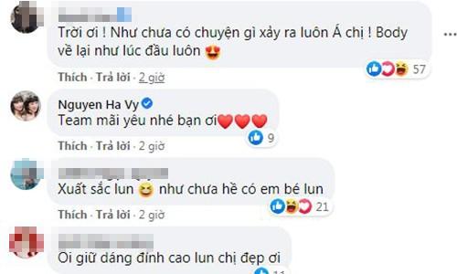 "Ho Ngoc Ha lay lai voc dang ""than toc"" sau 3 tuan sinh con-Hinh-3"