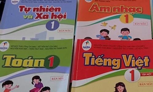 Sua sach giao khoa Tieng Viet lop 1: Cang sua cang sai