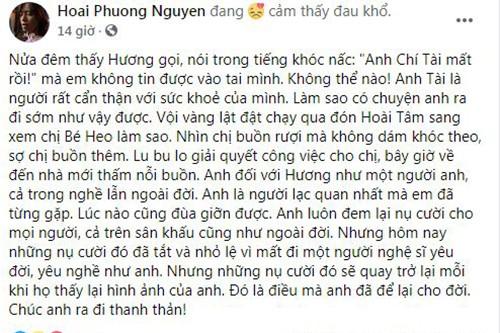 """Chong danh hai Viet Huong: """"Nhin ba xa Chi Tai buon ruoi"""""""