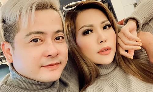 Hoang Anh tro chuyen than thiet voi Tham Bebe mac on ao