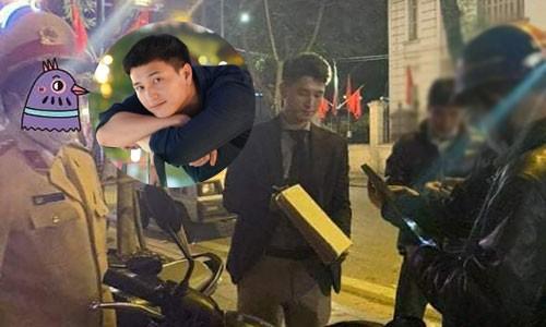 """Huynh Anh len tieng khi bi to """"luon leo"""" vu tai nan giao thong"""