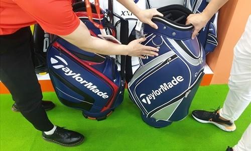 Thi truong dung cu golf: Hang gia, hang nhai doi lot hang Viet