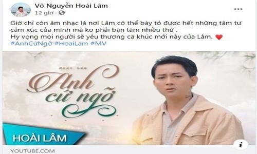 Hoai Lam chia se day tam trang sau khi vo cu khoe tinh moi