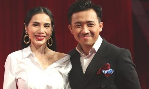 Tran Thanh xin loi Thuy Tien vu khong chuyen tien tu thien