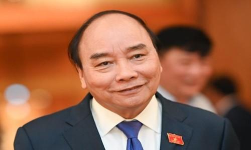Chu tich nuoc Nguyen Xuan Phuc gui thu cho Tong thong Biden