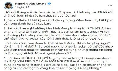 """Phuong Thanh len tieng khi bi don co trong nhom chat """"Nghe si Viet""""-Hinh-4"""