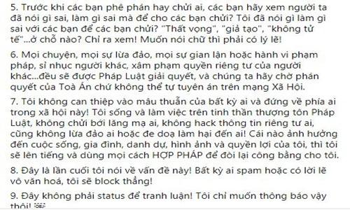 """Phuong Thanh len tieng khi bi don co trong nhom chat """"Nghe si Viet""""-Hinh-5"""
