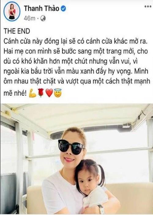 """Bup be"" Thanh Thao dap tra tin don hon nhan ran nut"