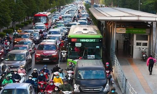 Buyt BRT Ha Noi gay that thoat, co the chuyen co quan dieu tra