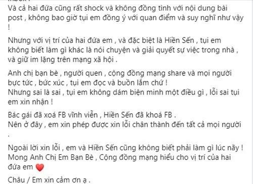 Me chong tuong lai phat ngon soc ve dich, Ly Phuong Chau len tieng-Hinh-3