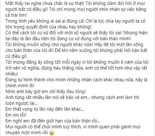 """Luong Minh Trang viet tam thu """"boc"""" Vinh Rau hau ly hon-Hinh-3"""