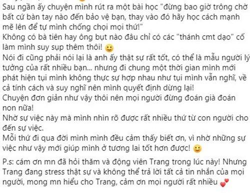 """Luong Minh Trang viet tam thu """"boc"""" Vinh Rau hau ly hon-Hinh-4"""