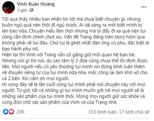 Vinh Rau len tieng khi vo cu noi ghet dan ong vu phu-Hinh-2
