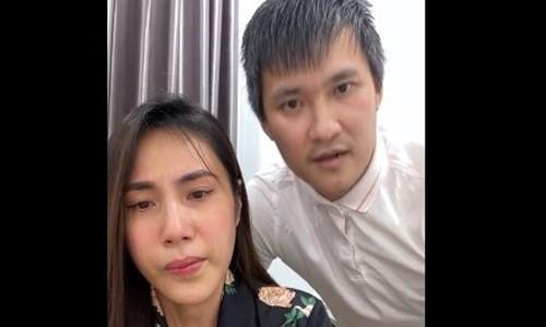 Cong Vinh - Thuy Tien moi ba Phuong Hang cung ra ngan hang in sao ke