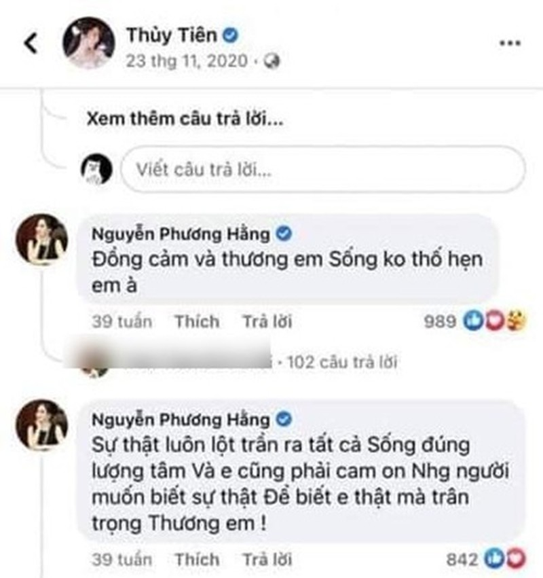 Keo Thuy Tien vao vu Mr Dam, ba Phuong Hang tien hau bat nhat-Hinh-2