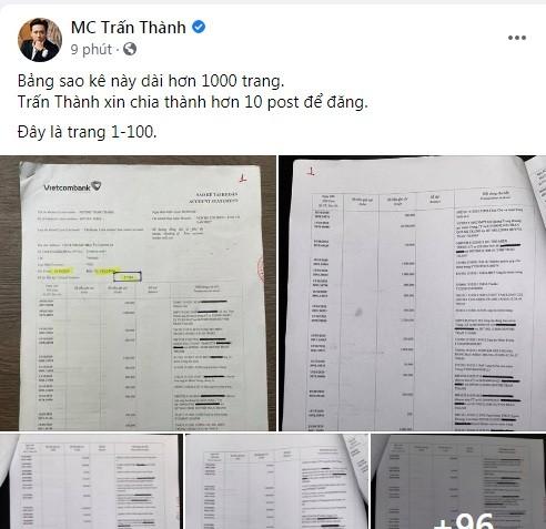 MC Tran Thanh cong khai chi tiet sao ke tu thien-Hinh-2