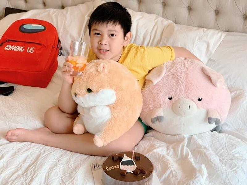 Con trai lon phong phao cua MC Quynh Chi va chong cu Van Chuong-Hinh-4